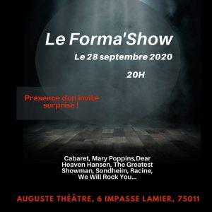 Le Forma show affiche